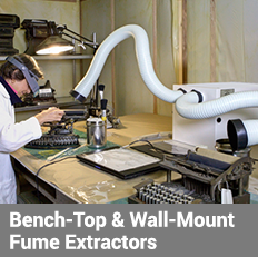 Bench-Top and Wall-Mount Fume Extractors