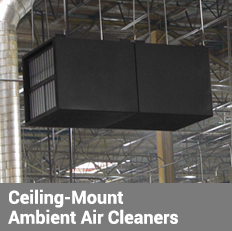 Ceiling-Mount Ambient Air Cleaners