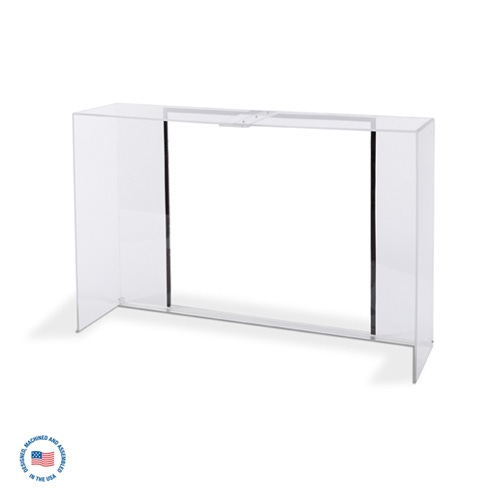 "E-984-3 Acrylic Hood - 36"" W Extract All Air Purification Systems"