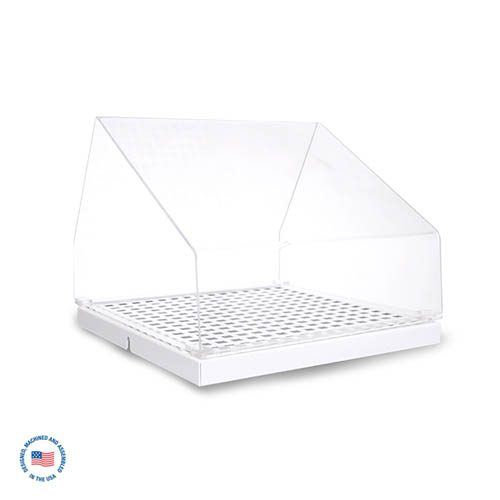IO-DTL-2 Grated Inlet Cover with Acrylic Hood 1