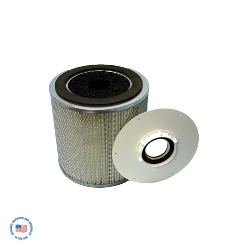F-981-4SP-SU Primary Hepa Filter/refillable Adsorption Module w/Inner Core & SU Blend Carbon 1