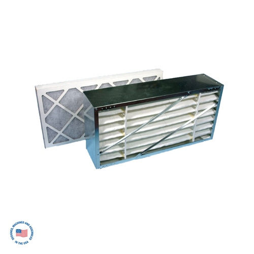"""F-984-2A Primary 95% Cell Filter w/ Final 2"""" Disposable Carbon Filter"""