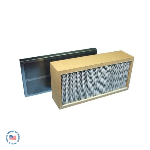 """F-984-4SP-SU Primary Hepa Filter w/Final 2"""" Refillable Adsorption Module which contains SU Blend of Carbon 1"""