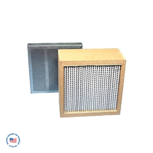 """F-987-4SP-CI Primary Hepa Filter w/ Final 2"""" Refillable Adsorption Module (CI Blend Carbon) 1"""