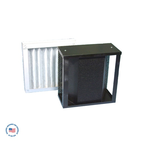 F-987-5SP-DCL Primary Refillable Adsorption Module w/ Final 60% Pleated Filter (DCL Blend Carbon) 1