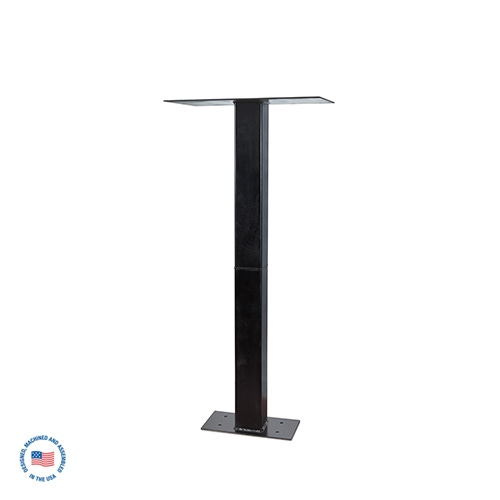 """SO-14-2 26 1/2"""" W x 15"""" D Floor Stand (Specify Hgt. up to 5') 1"""