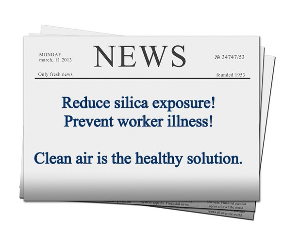 Silica exposure is known to increase the chance of workers developing lung cancer