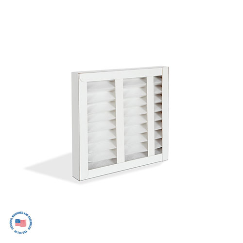 "RF-300-6 4"" MERV 7 Pleated Filter 1"