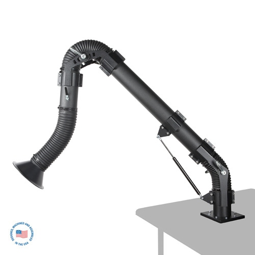EA64-T Extract-All™ Table-Mount Welding Fume Extraction Arm - Overstock 1