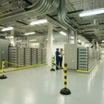 Inside data centers, air quality is important.