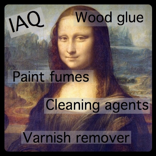 Eradicate indoor air pollution in order to preserve precious works of art