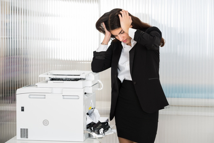 Office equipment like photo copiers and laser printers negatively Affect indoor air quality.