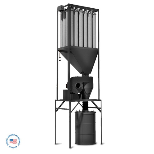 WW-1100-RCT-D1 High Efficiency Cyclone Collector 1