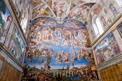 With high pollution levels putting some of the world's most famous masterpieces housed in the Sistine Chapel at risk, the through new air purification systems