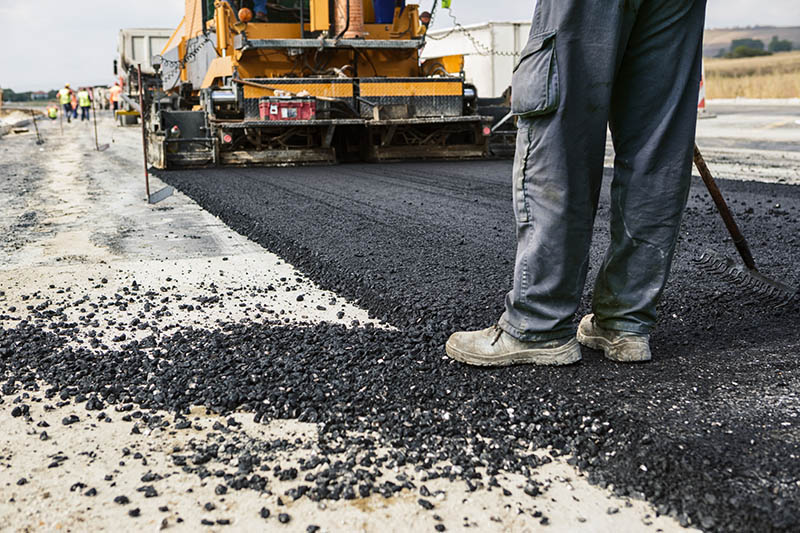 The main ingredient in asphalt production is petroleum. When crude oil is heated, benzene-containing fumes are released into the air
