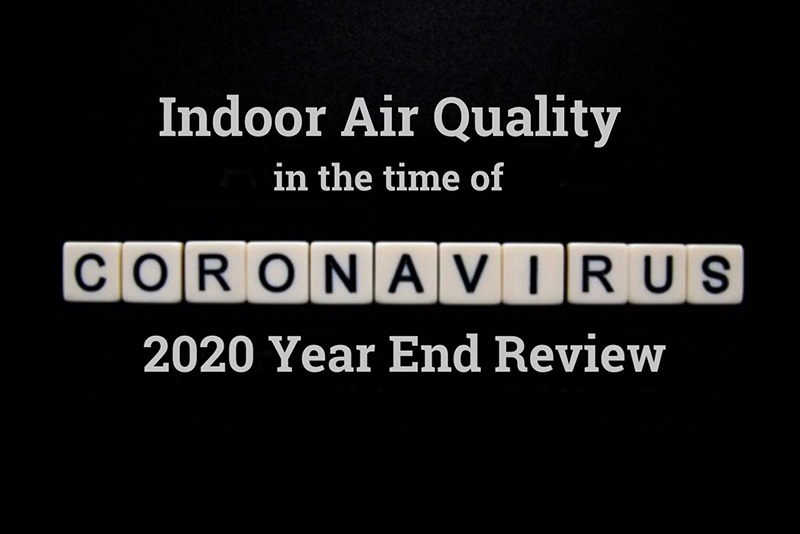 Indoor Air Quality in the time of Covid-19 2020 Year End Review 3
