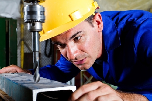 Workers may be overexposed to metalworking fluid if they start showing signs of skin irritation.
